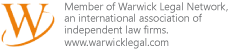 warwick legal logo